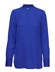 Silk Long-Sleeve Blouse