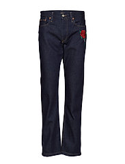 Reede High-Rise Straight Jean - DARK INDIGO