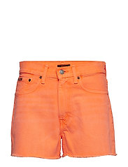 The Shawe High-Rise Short - NEON ORANGE