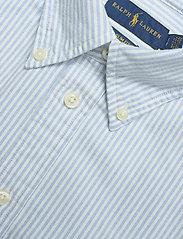Polo Ralph Lauren - Slim Fit Cotton Oxford Shirt - long-sleeved shirts - bsr blue/white - 2