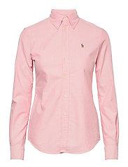 Slim Fit Cotton Oxford Shirt - BSR PINK