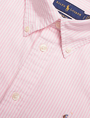Polo Ralph Lauren - Slim Fit Cotton Oxford Shirt - long-sleeved shirts - bsr pink/white - 2