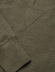 Polo Ralph Lauren - Waffle-Knit Henley Dress - maxi dresses - defender green - 2