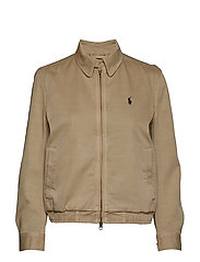 Chino Windbreaker Jacket - SURREY TAN