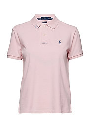 Classic Fit Cotton Polo Shirt - RESORT PINK