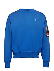 Embroidered Fleece Pullover - SPA ROYAL