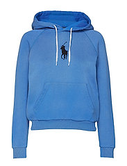 Big Pony Fleece Hoodie - COLBY BLUE