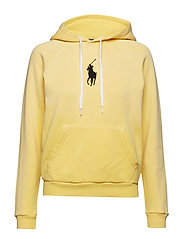 Big Pony Fleece Hoodie - FALL YELLOW