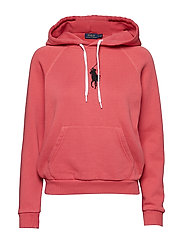 Big Pony Fleece Hoodie - NANTUCKET RED