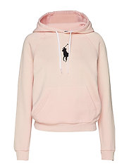 Big Pony Fleece Hoodie - PINK SAND