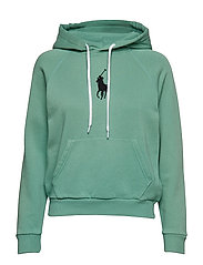 Big Pony Fleece Hoodie - PISTACHIO