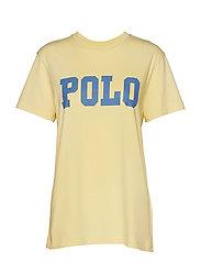 Big Fit Polo Cotton T-Shirt - BANANA PEEL