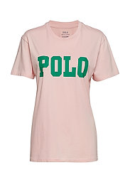 Big Fit Polo Cotton T-Shirt - PINK SAND