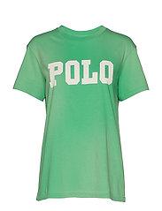 Big Fit Polo Cotton T-Shirt - VINEYARD GREEN