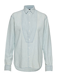 Chambray Button-Down Shirt - ISLAND INDIGO