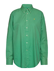 Cotton Oxford Shirt - VINEYARD GREEN