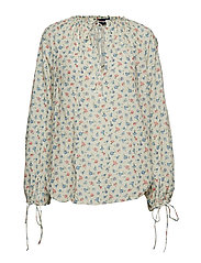 Floral Cotton Top - DITSY DAISY FLORA