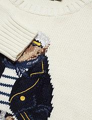 51f752109 Polo Bear Cotton Sweater (Cream Multi) (209.25 €) - Polo Ralph ...