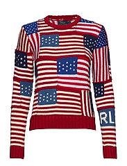 Flag Cotton Sweater - MULTI