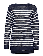 Polo Striped Linen Sweater