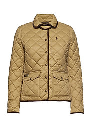 Quilted Jacket - DESERT TAN