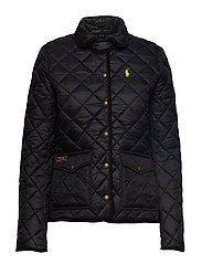 Quilted Jacket - POLO BLACK
