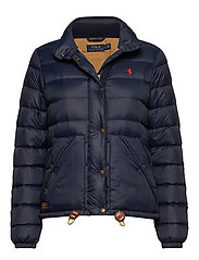 Quilted Down Jacket - AVIATOR NAVY