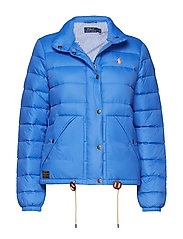 Quilted Down Jacket - MAIDSTONE BLUE