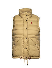 Nylon Down Vest - DESERT TAN