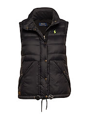Nylon Down Vest - POLO BLACK