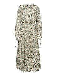 Floral Gauze Dress - DITSY DAISY FLORA