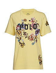 Polo Floral Jersey Tee