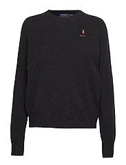 Wool Crewneck Sweater - CHARCOAL HEATHER