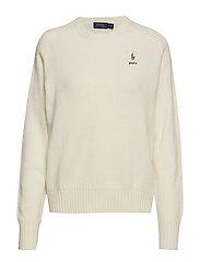 Wool Crewneck Sweater - CREAM