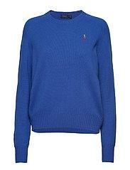 Wool Crewneck Sweater - MAIDSTONE BLUE