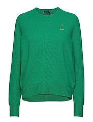 Wool Crewneck Sweater - STEM GREEN