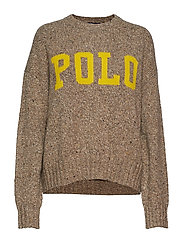 Polo Wool-Blend Sweater - TAN DONEGAL/OLYMP