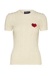 RL Heart Short-Sleeve Sweater