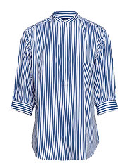 Striped Cotton Shirt - 814 BLUE/WHITE