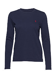 Jersey Long-Sleeve Shirt - CRUISE NAVY