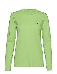 Jersey Long-Sleeve Shirt - RIVIERA GREEN