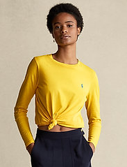 Polo Ralph Lauren - Jersey Long-Sleeve Shirt - langærmede toppe - university yellow - 0