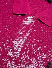 Polo Ralph Lauren - SEQUIN MESH-SSL-KNT - pikeepaidat - fuchsia berry - 2