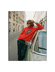 Polo Ralph Lauren - Wool-Blend Turtleneck Sweater - poolopaidat - fall red - 0