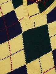 Polo Ralph Lauren - Argyle Sweater Vest - kamizelki - yellow multi - 2