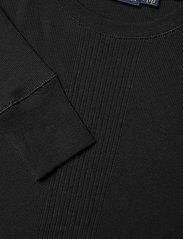 Polo Ralph Lauren - Elbow-Patch Rib-Knit Top - neulepuserot - polo black - 2
