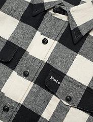 Polo Ralph Lauren - BRUSHED COTTON-LSL-SHT - overshirts - 407 black/cream - 2