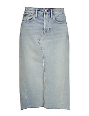Denim Skirt - LIGHT INDIGO