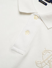 Polo Ralph Lauren - Classic Fit Beaded Polo Shirt - pikeepaidat - deckwash white - 3