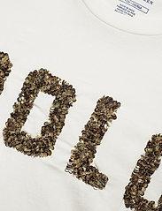 Polo Ralph Lauren - Beaded-Logo Cotton Tee - logo t-shirts - nevis - 2